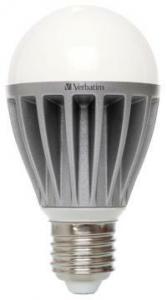 Ampoule à leds Verbatim LED Classic A E27 8W 2700K Blanc chaud 530 LM dimmable