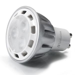 Ampoule LED Verbatim PAR16 GU10 7 W 3 000 K 350 lm