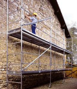Échafaudage fixe de façade M49