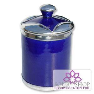Boite tabac bleu majorelle
