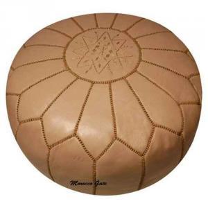 Pouf Art Maroc taupe